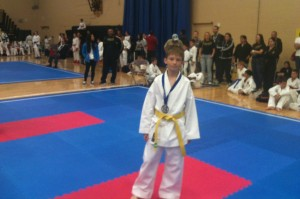 Grand Prix-3 Karate Ontario Welcome House student gets 2-nd place and silver medal for kata